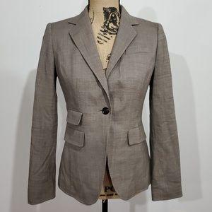 Banana republic taupe suit jacket